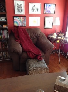 My comfy reading chair